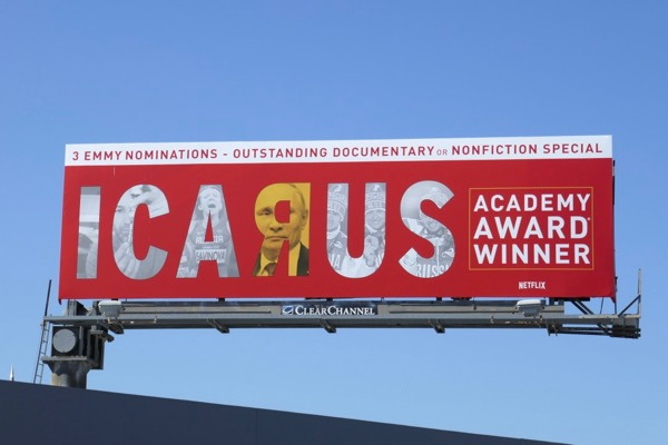 Icarus 2018 Emmy nominee billboard