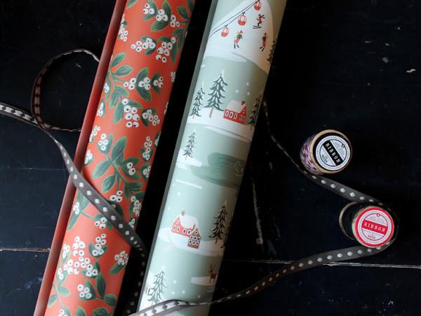 Pikkuisia paketteja, joulupaperin rapinaa ...