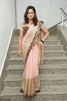 Shilpa Chakravarthy in Lovely Designer Pink Saree with Cat Print Pallu 036.JPG