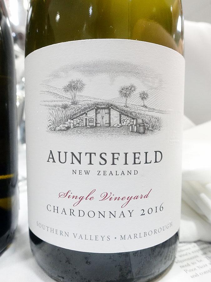 Auntsfield Single Vineyard Chardonnay 2016 (90 pts)