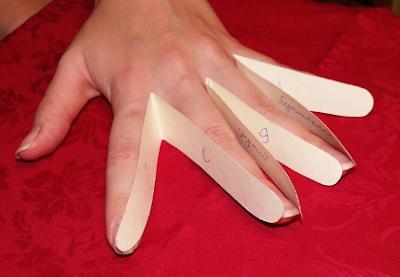раскрой перчаток
