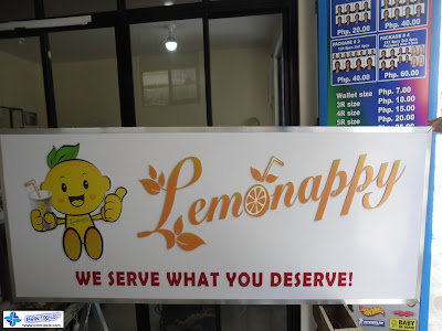 Acrylic Lightbox Sign for Lemonappy