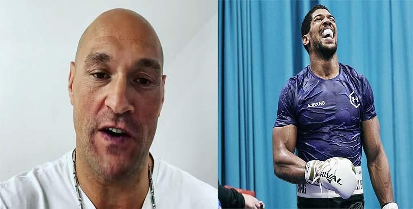 Tyson Fury annonce la date du combat pour le titre mondial avec Anthony Joshua