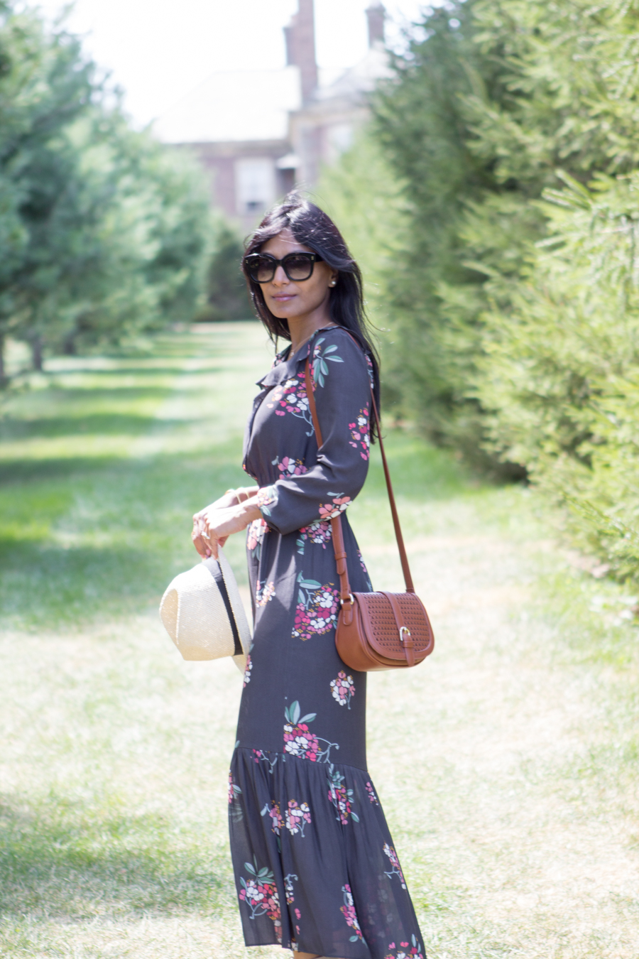 fall style, maxi dress, floral dress, transitional, dressy outfit, casual outfit, petite fashion, dvlook, target style, gladiator wedge, fall shoe trends, petite style, petite style studio, personal style, style tips