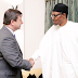 President Buhari Receives British High Commissioner, Mr. Paul Arkwright To Nigeria At The State House.