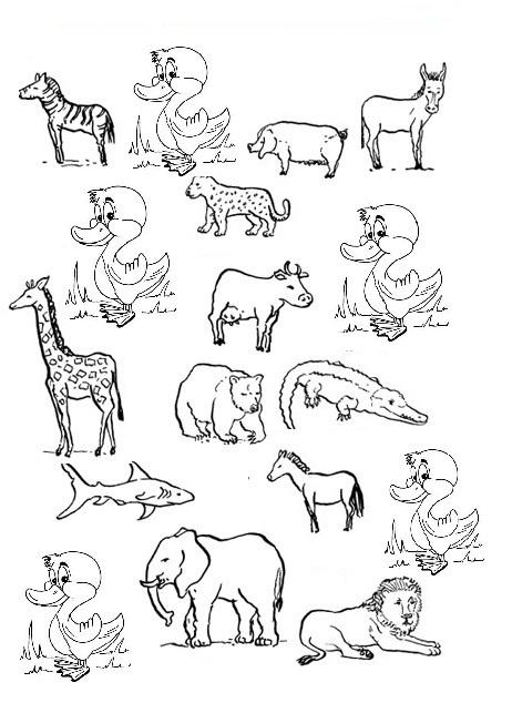 Brinquedos De Papel Dia Mundial Dos Animais Desenhos Para