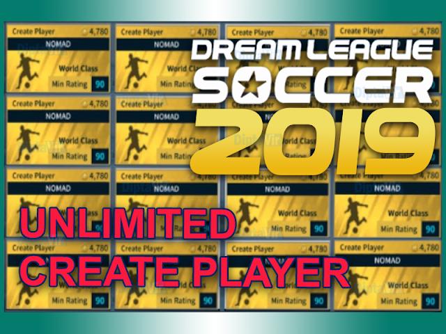 cara-mendapatkan-unlimited-create-player-dls-2019