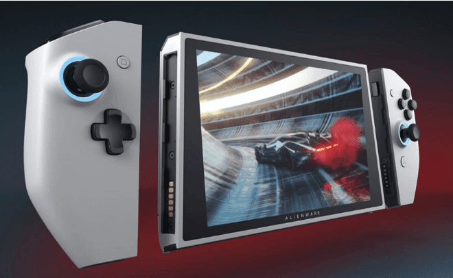 Dell And Alienware Unveiled Concept UFO - Portable Gaming PC