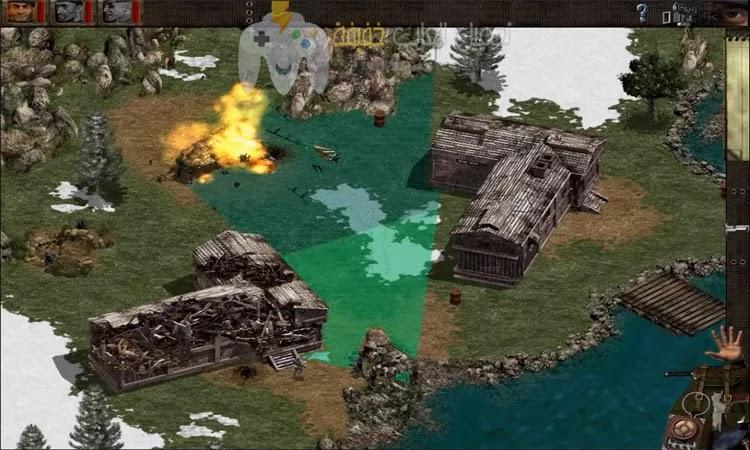 تحميل لعبة كوماندوز القديمة للكمبيوتر