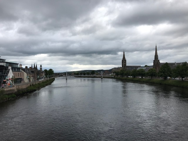 Inverness, River, River Ness, Ness, Scotland, Waterway