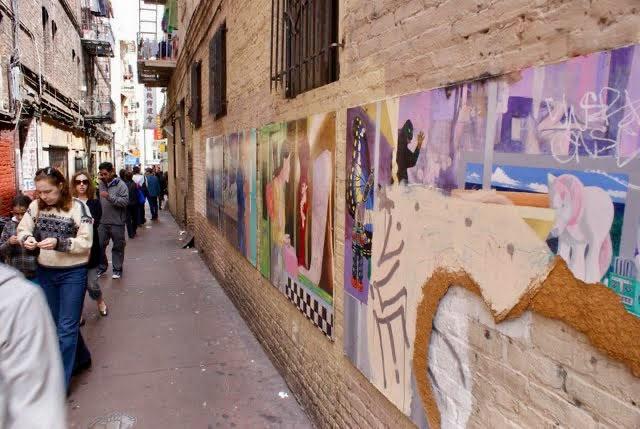Barbary Coast Trail - Chinatown Street Art
