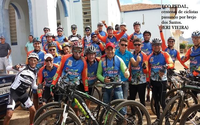 Eco Pedal Catolé reúne ciclistas de várias cidades da Paraíba e do Rio Grande do Norte;