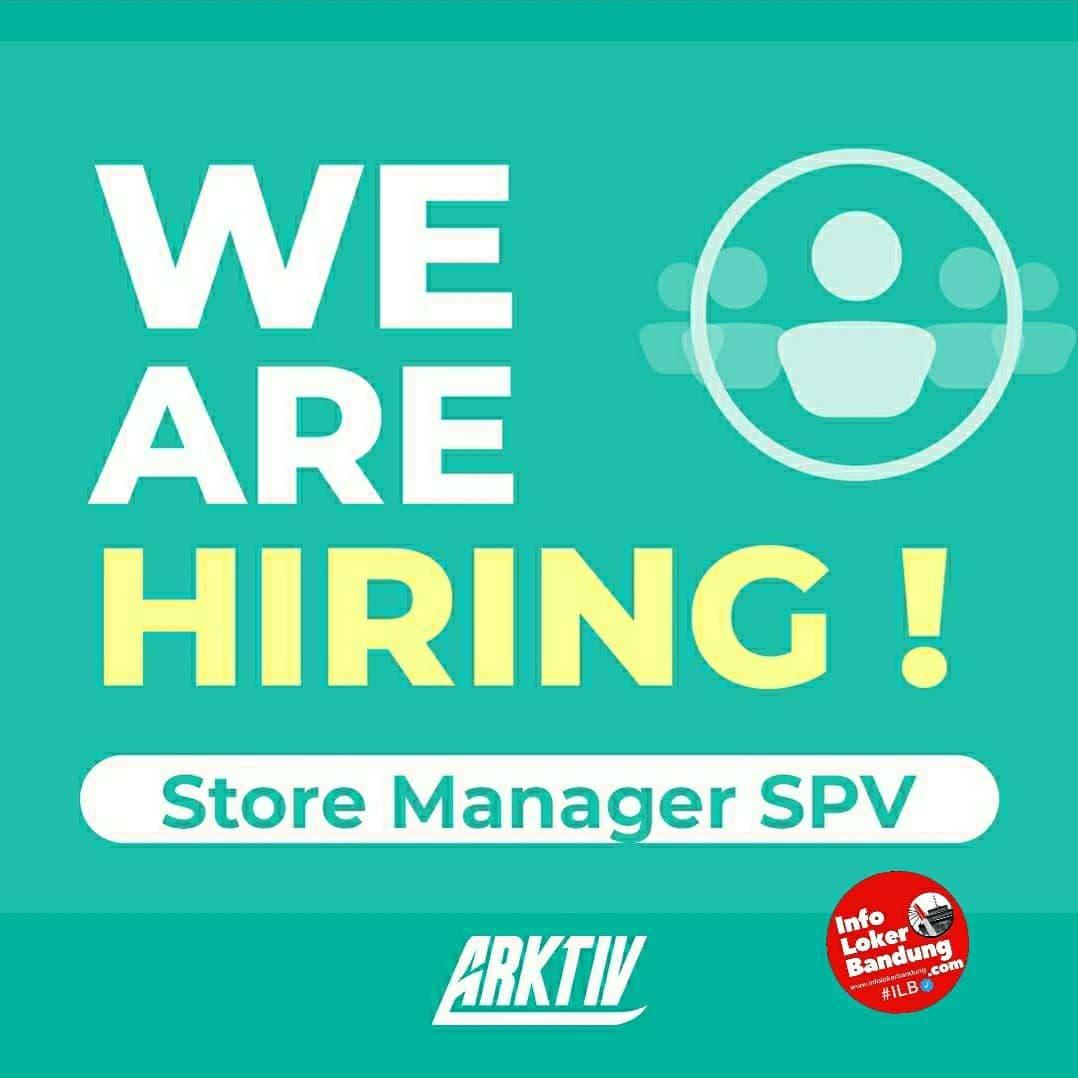 Lowongan Kerja Store Manager SPV & Fashion Designer Arktiv Bandung April 2021