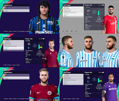 PES 2021 MiXed Facepack 70