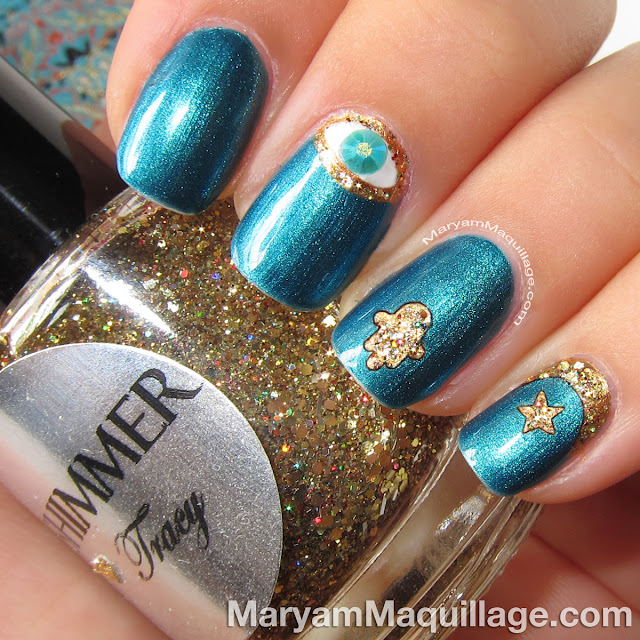 Nail Art Ramadan: Maryam Maquillage: Islamic Nail Art For Ramadan