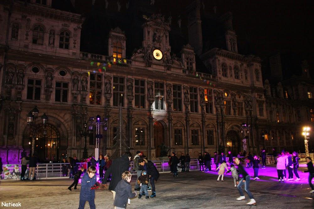 grande patinoire 2014 Hôtel de ville de Paris
