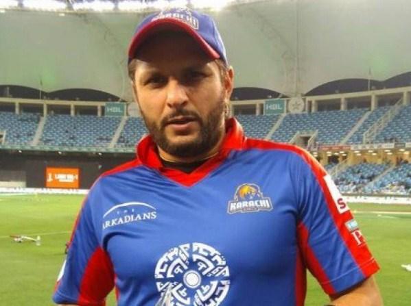 Afridi left Karachi Kings for the final decision of the PSL for cricket
