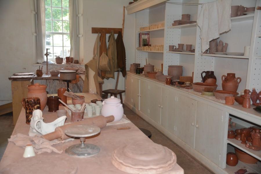 Atelier poterie Old Salem