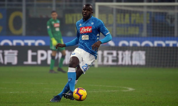 Napoli Inform Man United And Barca They Can Buy Koulibaly