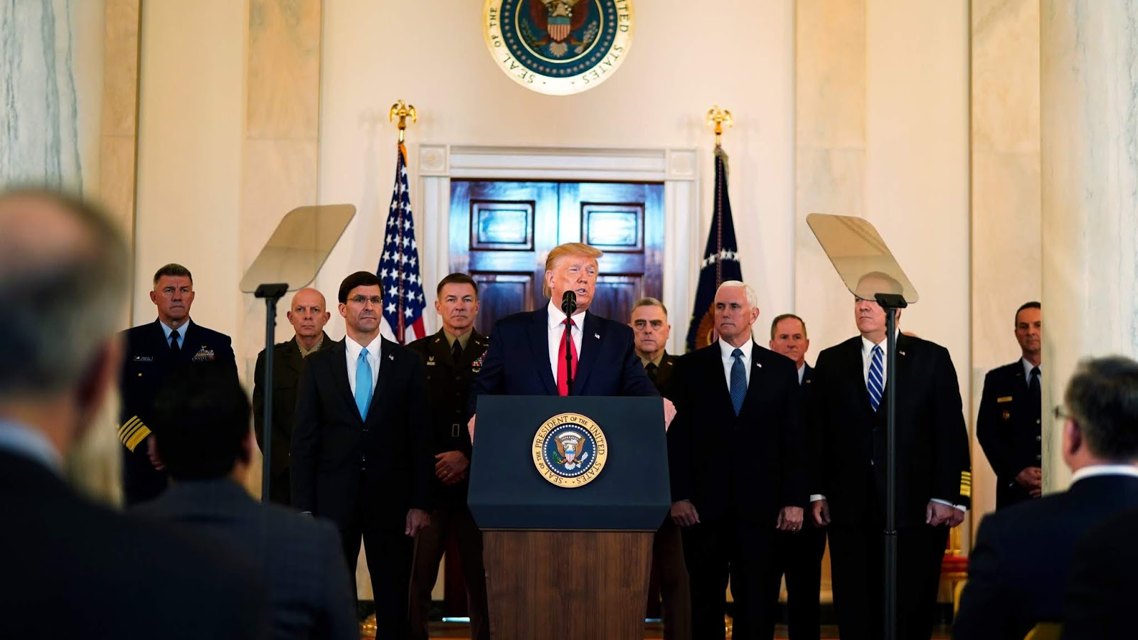 Trump, Iran crisis