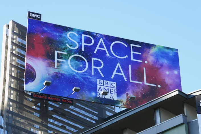 Doctor Who season 12 Space For all billboard
