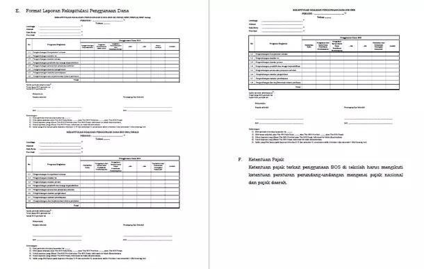 Pertanggungjawaban Keuangan BOS Sesuai Permendikbud No 8 Tahun 2017 Tentang Juknis BOS