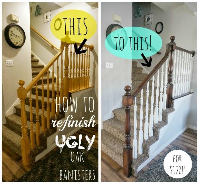 Two Points For Honesty Refinishing Oak Stair Railings | Cost To Refinish Handrail | Hardwood Stairs | Wrought Iron | Interior | Stair Treads | Refinishing Hardwood Floors