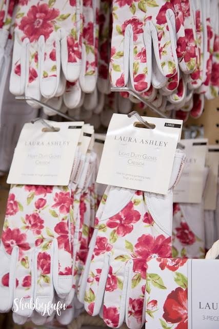 laura ashley floral gloves
