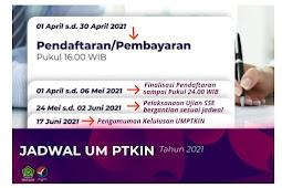 Cara Pendaftaran UMPTKIN 2021 Lengkap