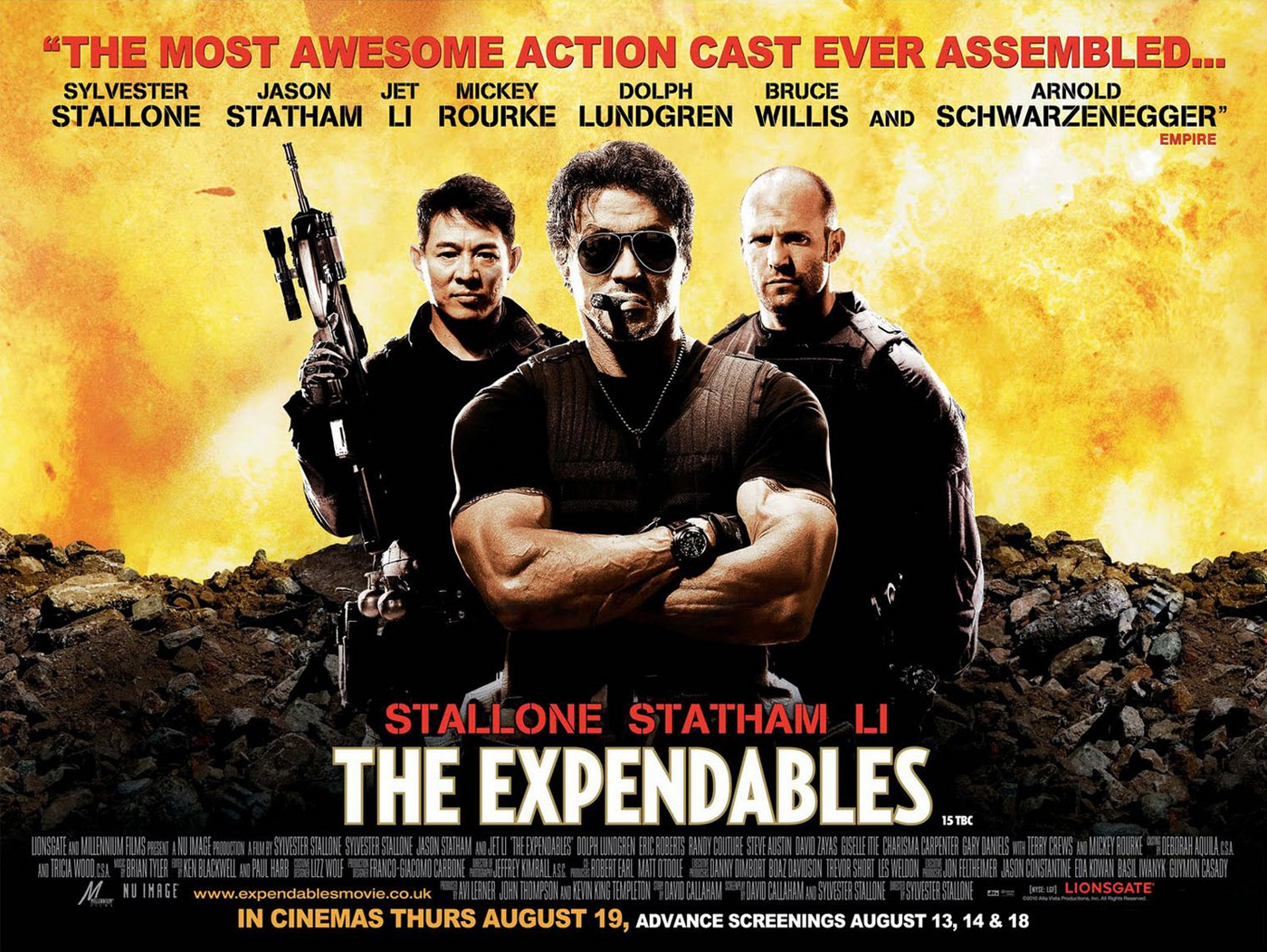 Words worth a lot: Top Action Movie of Hollywood
