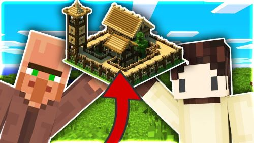 Người chơi nhớ để những dân làng tự di chuyển hẳn sang cổng làng mới nhé