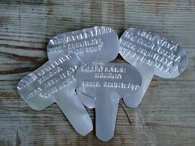 metal plant tags