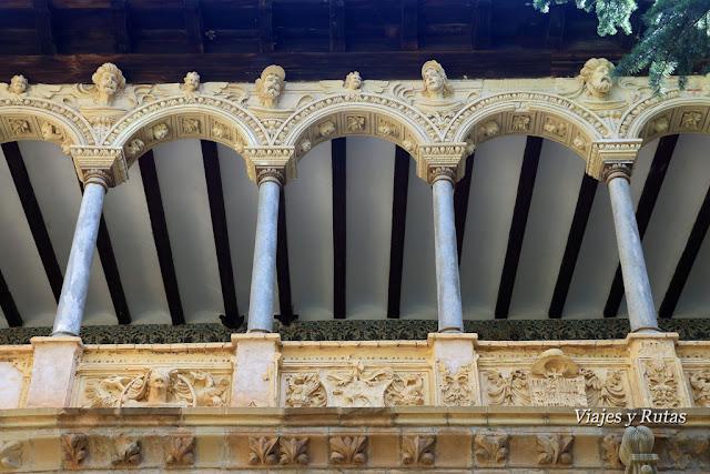 Claustro superior del Monasterio de Veruela