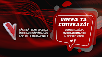 "Castiga o invitatie dubla la finala live ""Vocea României"" + o boxa portabila - concurs - protv - smiley - chirila - rimes - brenciu - castiga.net"