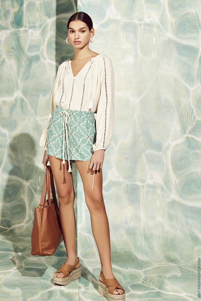 Blusas primavera verano 2020 moda mujer.