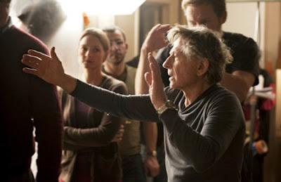Polanski junto a sus actores