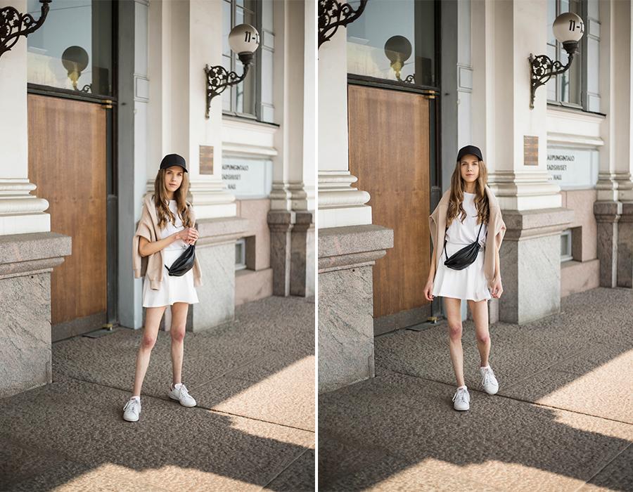 Kuinka pukea tennishame // How to wear a tennis skirt