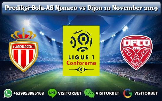 Prediksi Skor AS Monaco vs Dijon 10 November 2019