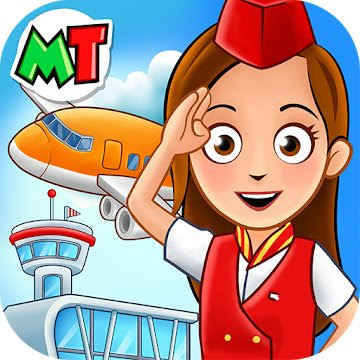 My Town: Airport (MOD, Unlocked All/Premium) APK Download