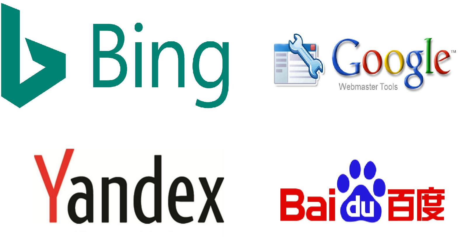 How To Submit Website To Google,Bing,Baidu,Yandex,DuckDuckGo