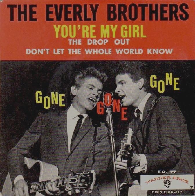 Rien que des vinyls: EVERLY BROTHERS - 1965 - FR-WARNER BROS 77