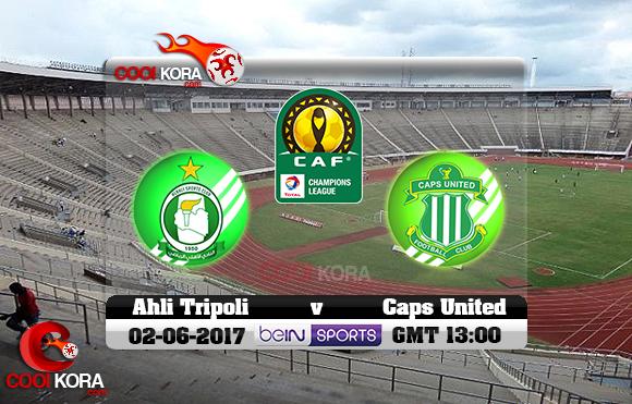 مشاهدة مباراة كابس يونايتد وأهلي طرابلس اليوم 2-6-2017 دوري أبطال أفريقيا