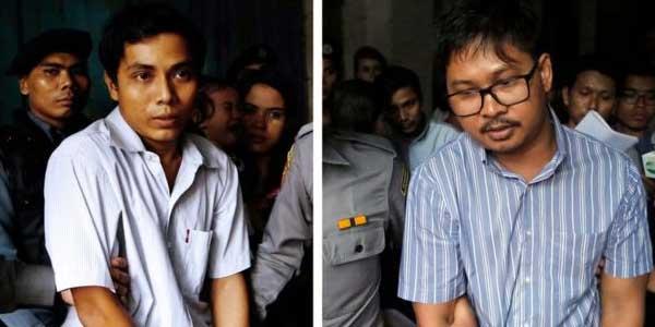 Meliput Muslim Rohingya, Dua Wartawan Dipenjara 7 Tahun