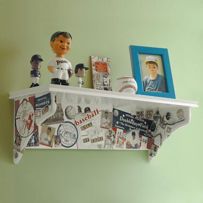 Memorabilia Shelf