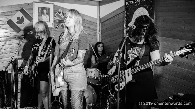 The Anti-Queens at The Elora Legion at Riverfest Elora on Saturday, August 17, 2019 Photo by John Ordean at One In Ten Words oneintenwords.com toronto indie alternative live music blog concert photography pictures photos nikon d750 camera yyz photographer summer music festival guelph elora ontario afterparty punk