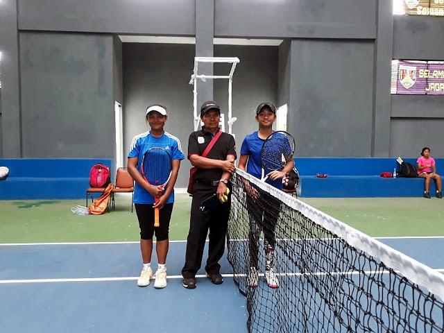 Libas Unggulan, Siswi SMAN 8 Kota Kediri Melaju ke 8 Besar Kejurnas Tenis New Armada Cup XXIV