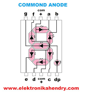 7 segment common anode