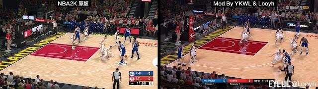 Graphics Mod In NBA 2K19