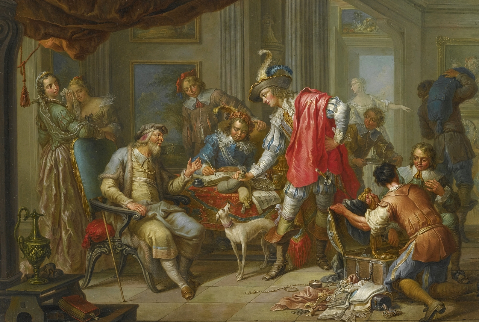 the surviving paintings of baroque period Relationship analysis of the baroque and the baroque and romantic art century leading to realism art period the name baroque is believed to have.