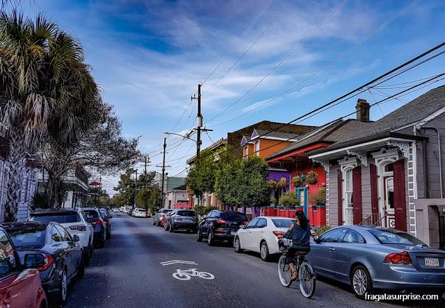 Bicicletas em Nova Orleans